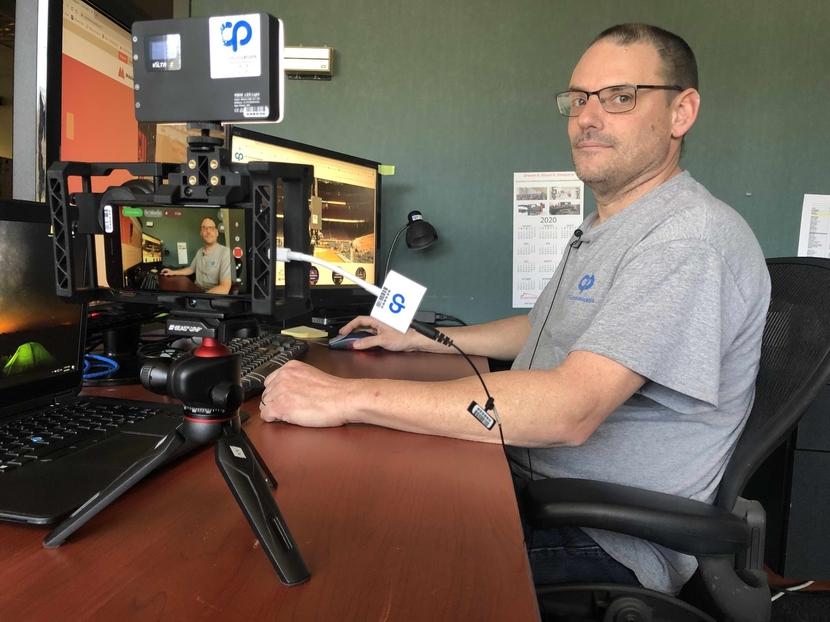 Cp communications, App-Based Streaming, COVID-19, Kurt Heitmann, Mobile Viewpoint's, Florida, MoJo app
