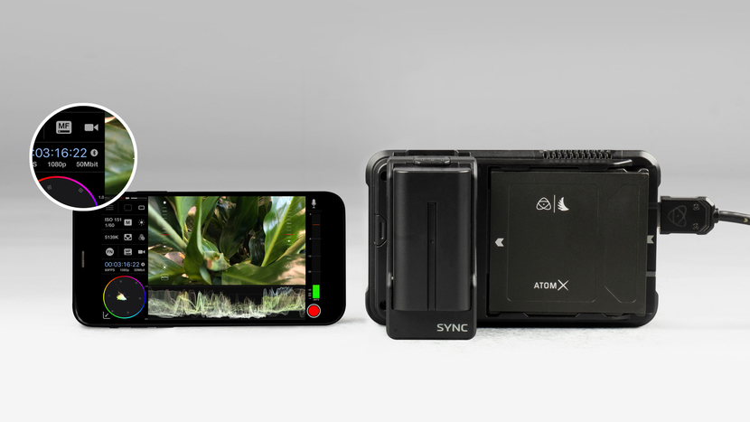 Atomos, Atomos AtomX, Ninja V, AtomX SYNC, HDMI camera, Robust network technology, Bluetooth wireless sync, Bluetooth Low Energy, Apogee MetaRecorder, Calibrated Analogue Audio, Paul Scurrell