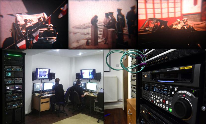 CJP, CJP Broadcast, Project for GBC, GBC, Video Transcription, Gerard Teuma, Raid, DVCAM, Video cassettes, DVCPRO video cassettes