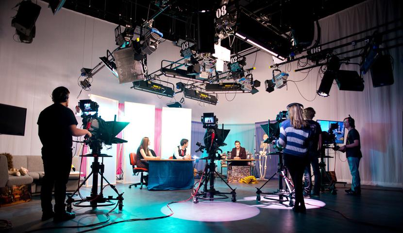 CJP Broadcast, The Department of Creative Arts, Edge Hill University, BBC, MediaCity, Department of Creative Arts, Chris Phillips, Creative Edge, TV Studio Manager, Ian Steel, Paul Farrell