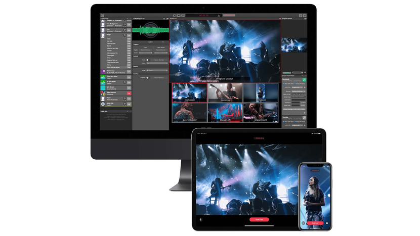 COVID-19, Broadcast, Production, Pandemic, Mac, Blackmagic design, Live stream