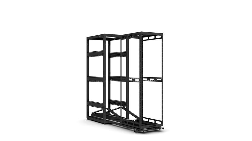 AXS enclosure, Slide out rack, Av