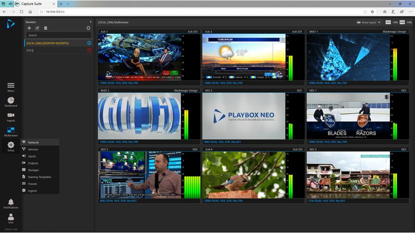 Broadcast, TV, Post Production, Ndi, SDI, Ingest