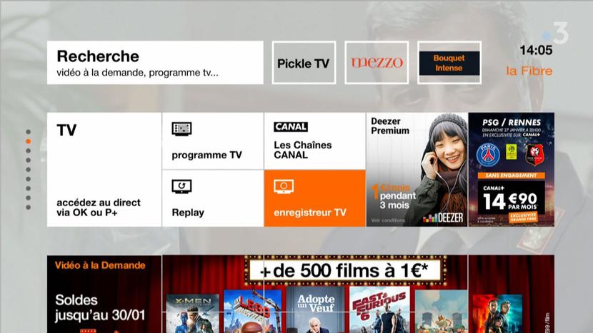 Orange's Portal With NPVR Service