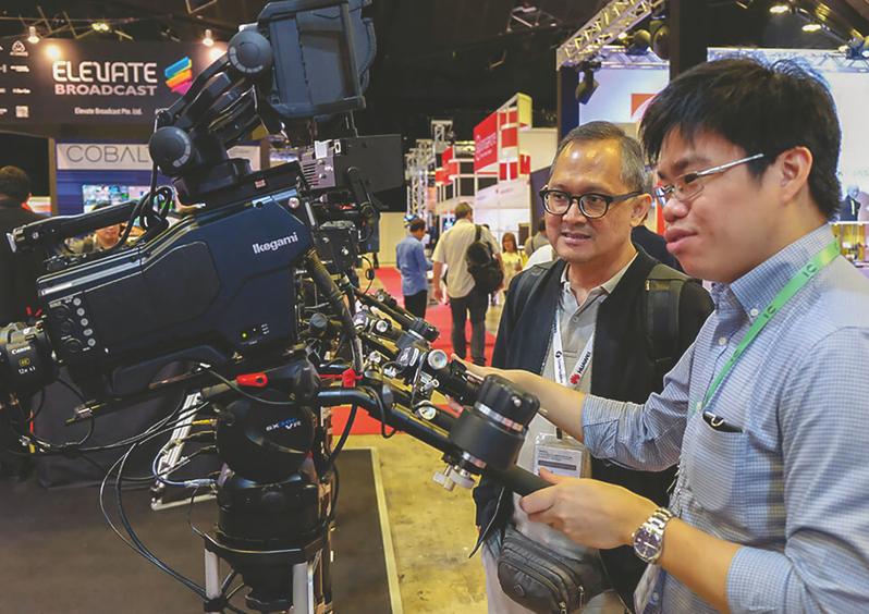 Technology on display at BroadcastAsia